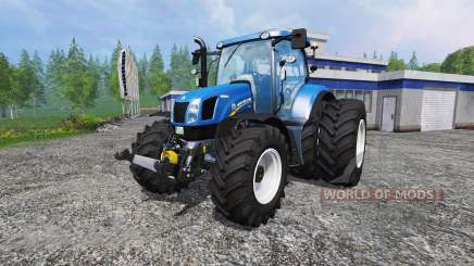 New Holland T6.175 twin wheels pour Farming Simulator 2015
