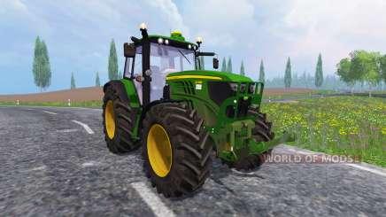John Deere 6140M für Farming Simulator 2015