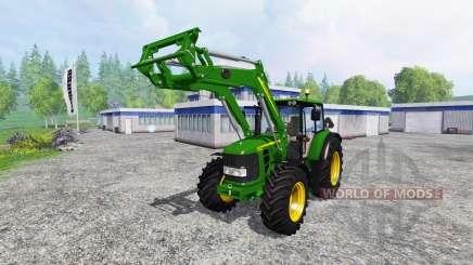 John Deere 6630 Premium front loader für Farming Simulator 2015