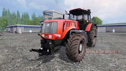 Biélorussie-3022 DC.1 v2.0 pour Farming Simulator 2015