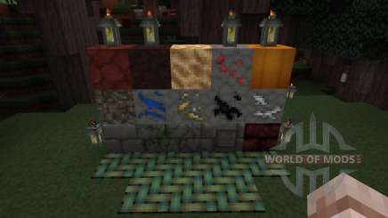 Glendale 3D Blocks Resource Pack [32x][1.8.8] für Minecraft