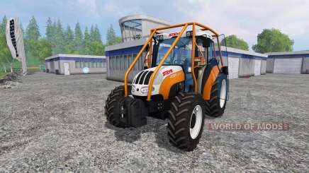 Steyr Kompakt 4095 forest pour Farming Simulator 2015