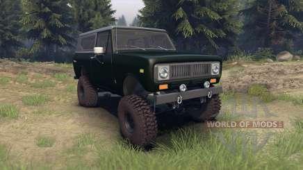 International Scout II 1977 dark green poly für Spin Tires