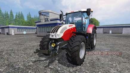 Steyr CVT 6130 EcoTech pour Farming Simulator 2015