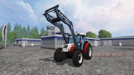 Steyr Kompakt 4095 front loader für Farming Simulator 2015