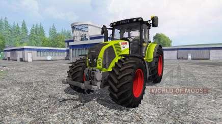 CLAAS Axion 850 v2.5 pour Farming Simulator 2015