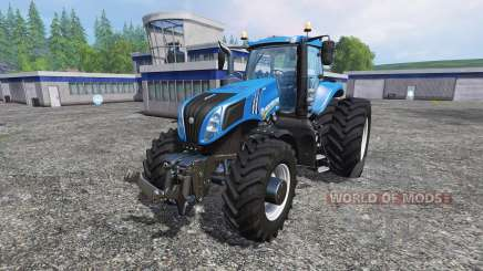 New Holland T8.275 Twin Wheels pour Farming Simulator 2015