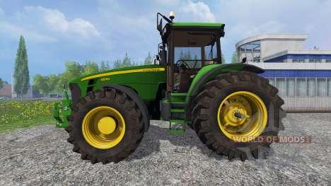John Deere 8530 v5.0 pour Farming Simulator 2015