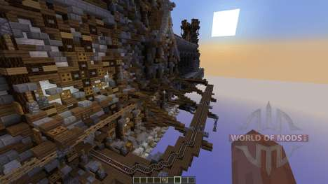 Earen, The Steam Rise pour Minecraft