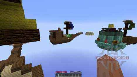 Battle of the Skies Released für Minecraft