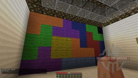 Tetris Escape für Minecraft