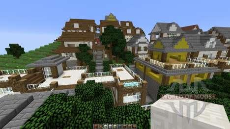 Minecraft town-Oakville für Minecraft