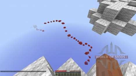 Through the Skies Parkour Race für Minecraft