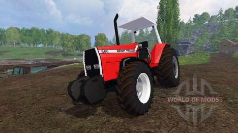 Massey Ferguson 680 pour Farming Simulator 2015
