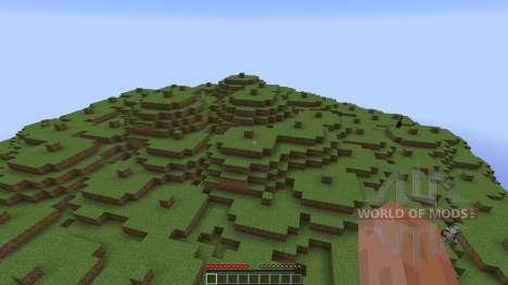 Hub Spawn 4 Portals für Minecraft