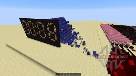 Redstone Calculator and Redstone Digital Clock für Minecraft