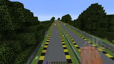 Minecraft Drag Racing pour Minecraft
