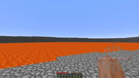Extreme Lava islands survival für Minecraft