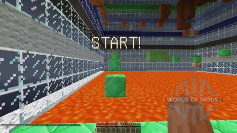 Ascend Minecraft Parkour Map [1.8][1.8.8] für Minecraft