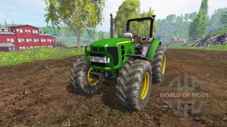 John Deere 5055 für Farming Simulator 2015