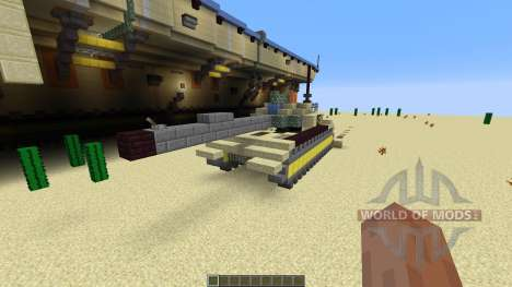 Opposite Aircraft Carrier für Minecraft