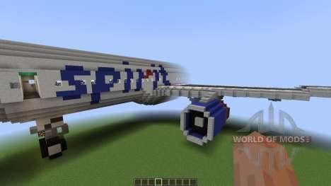 Airbus A320SL Spirit Airlines [1.8][1.8.8] pour Minecraft