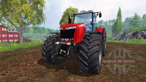Massey Ferguson 8737 [fixed] für Farming Simulator 2015