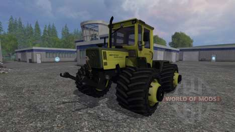 Mercedes-Benz Trac 1100 turbo v1.2 pour Farming Simulator 2015
