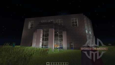 Castle Mansion House für Minecraft
