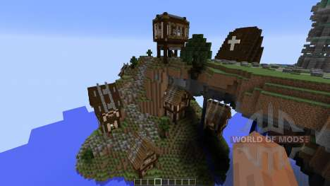 Cirrane The Forgotten Town pour Minecraft