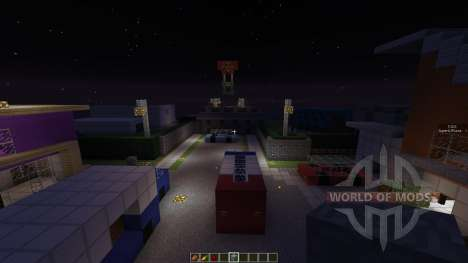 Call Of Duty Block Ops 2 NukeTown pour Minecraft