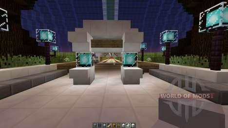 Asteroid Space Station für Minecraft