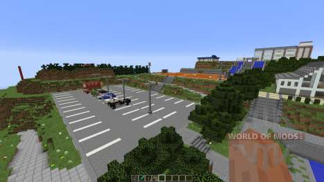 Angel Beats School [1.8][1.8.8] pour Minecraft