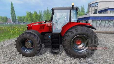 Massey Ferguson 7622 v2.0 für Farming Simulator 2015
