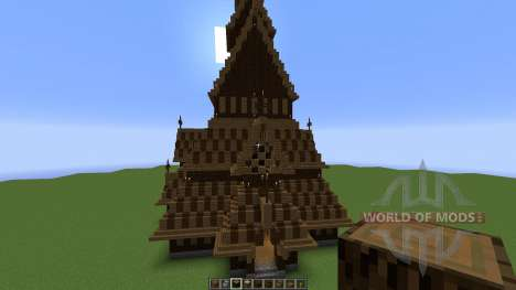 Borgund Stave Church für Minecraft