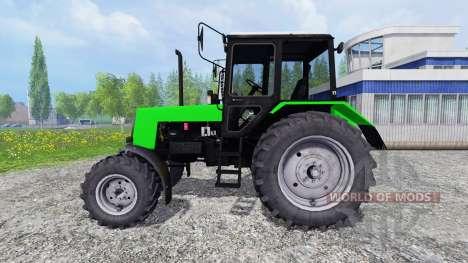 MTZ Belarus 1025 gelb und grün für Farming Simulator 2015