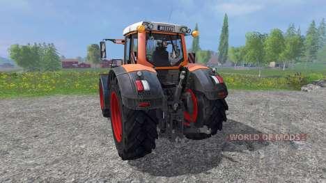 Fendt 936 Vario utilitaire pour Farming Simulator 2015