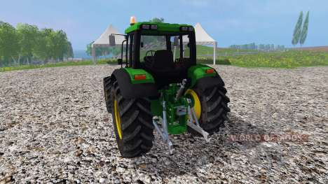 John Deere 6100 v2.0 pour Farming Simulator 2015