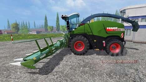 Fendt Katana 65 v2.0 pour Farming Simulator 2015
