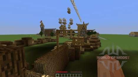 Medieval Village für Minecraft