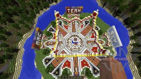 Professional Hub Spawn Lobby pour Minecraft