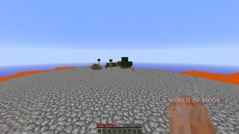 Extreme Lava islands survival pour Minecraft