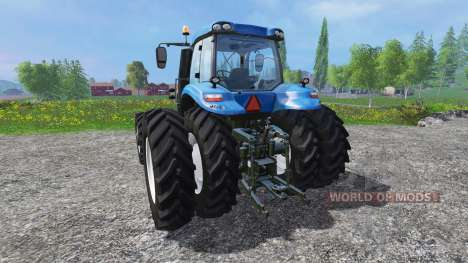 New Holland T8.320 row crop duals für Farming Simulator 2015