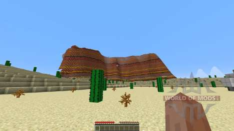 Arizona Custom Terrain test Hoodoo Desert pour Minecraft