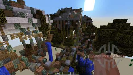Abandoned Steampunk Island pour Minecraft