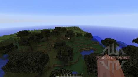 HARDCORE MAP: Minecraft Battle Coliseum pour Minecraft