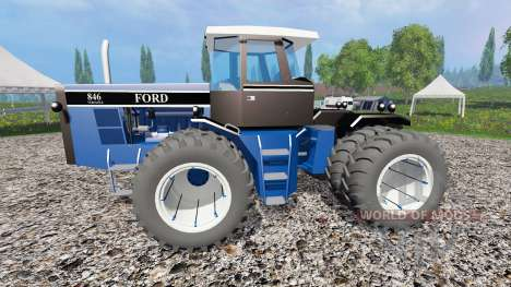 Ford Versatile 846 pour Farming Simulator 2015