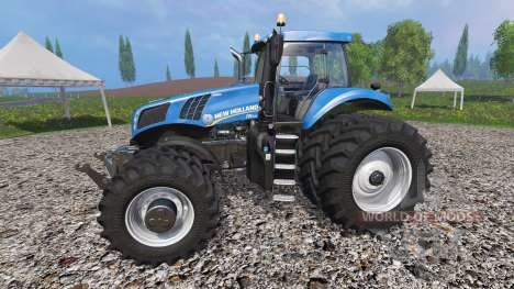 New Holland T8.435 v1.2 pour Farming Simulator 2015