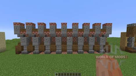 Custom Wall Pack pour Minecraft