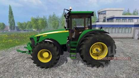 John Deere 8330 v4.0 pour Farming Simulator 2015
